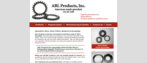 """<a href=""""https://www.ablproducts.com"""">ABL Products, Inc.</a>"""