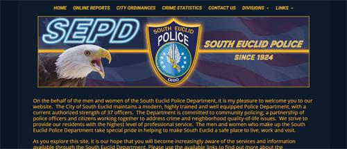 "<a href=""https://www.southeuclidpolice.com"">South Euclid Police Department</a>"