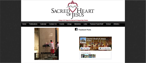 "<a href=""https://www.sacredheartofjesusparish.org"">Sacred Heart of Jesus Parish</a>"