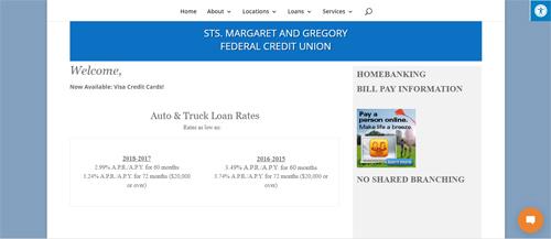 """<a href=""""https://www.stmargaretandgregory.org"""">Sts. Margaret & Gregory FCU</a>"""