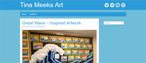 """<a href=""""https://www.tinameeksart.com"""">Tina Meeks Art</a>"""
