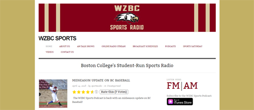 "<a href=""https://www.wzbcsports.com"">WZBC Sports - Boston College</a>"